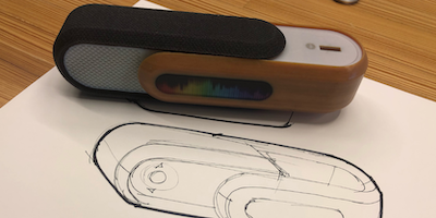 Smart Speaker CAD Design